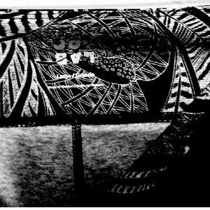 Joylab- Black Tropical Print Workout Yoga legging